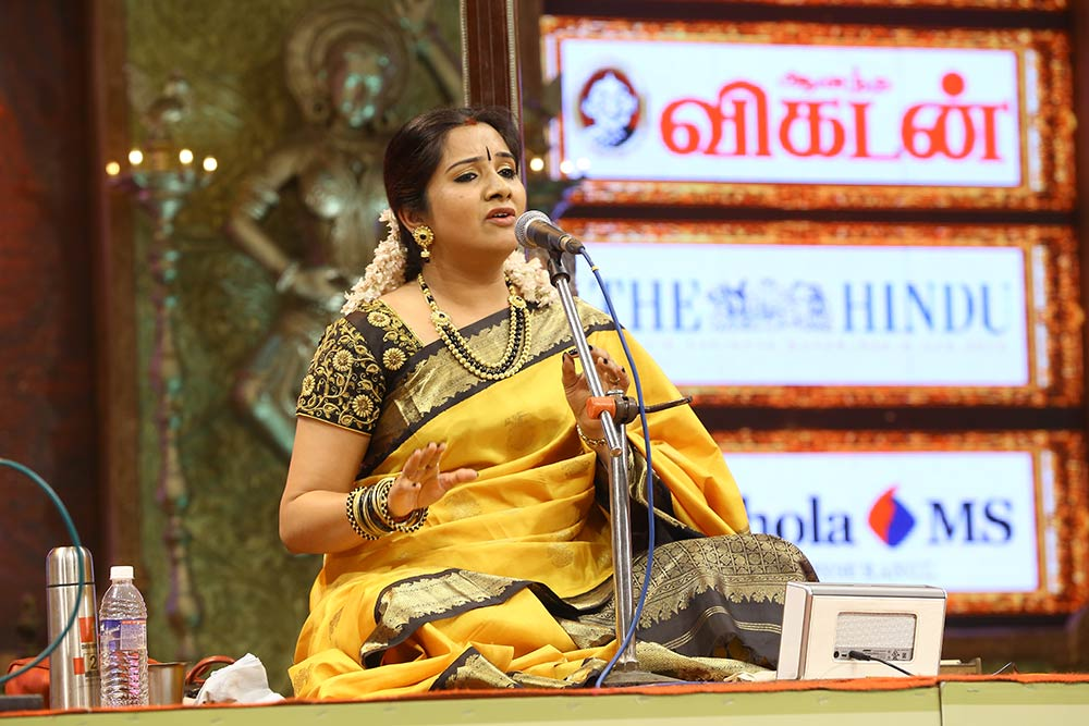 Mahathi – Vocal at Chennaiyil Thiruvaiyaru – Season 09