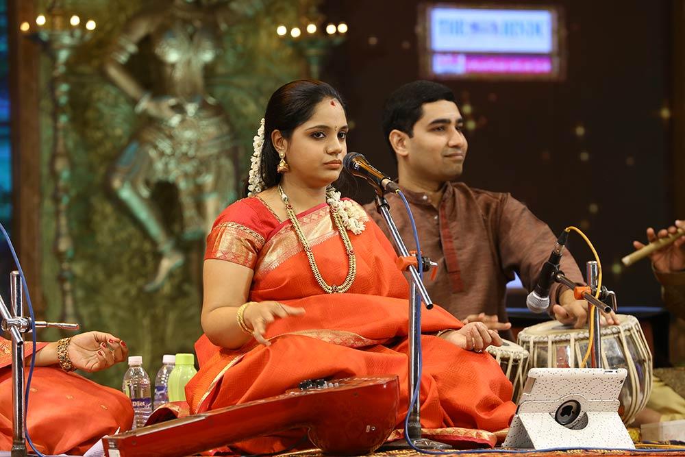 Sainthavi– Vocal at Chennaiyil Thiruvaiyaru – Season 09
