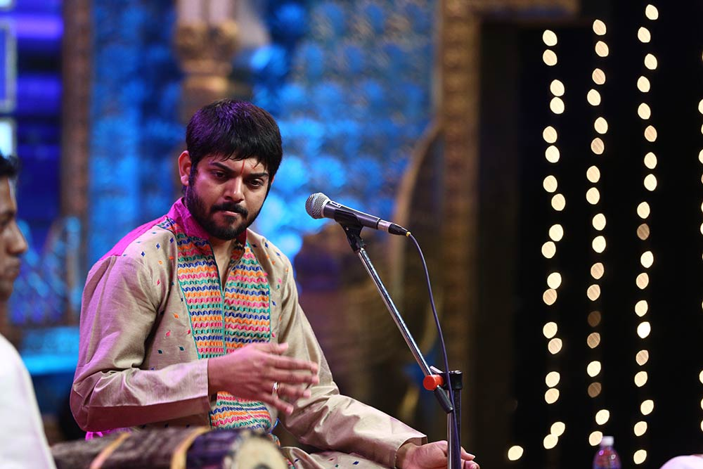 Rithvik Raja – Vocal at Chennaiyil Thiruvaiyaru – Season 11