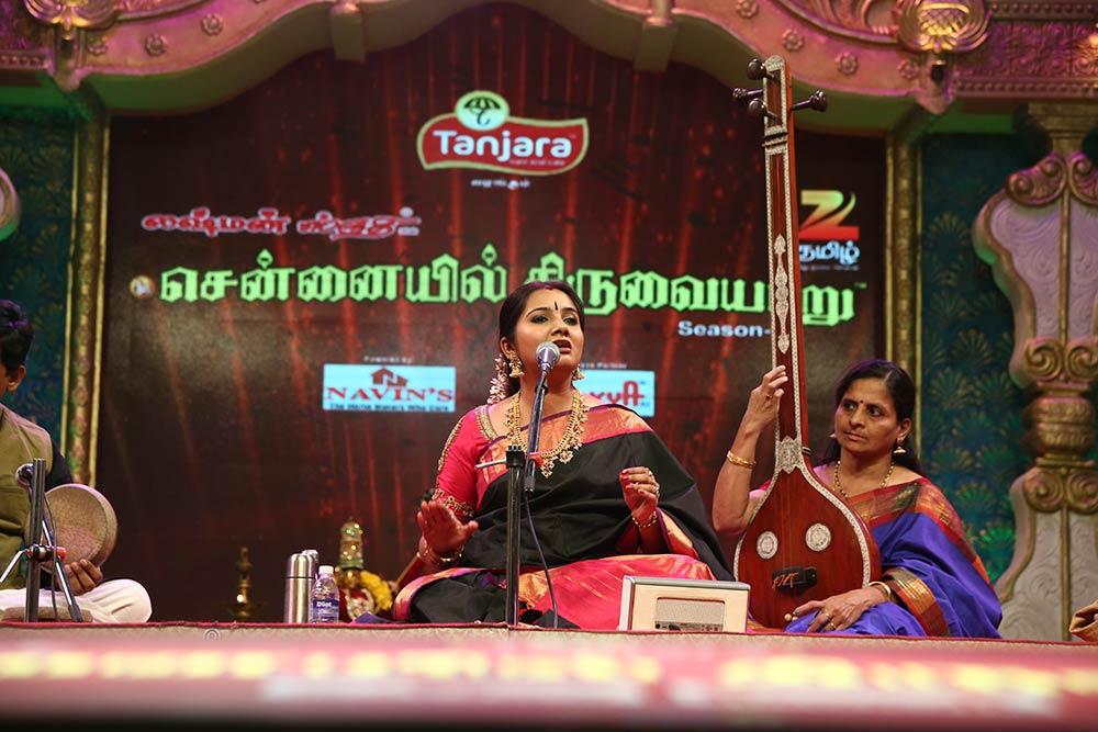 Mahathi – Vocal at Chennaiyil Thiruvaiyaru – Season 11