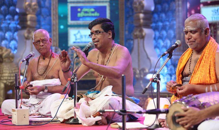 Udayalur Kalayanaraman - Discourse at Chennaiyil Thiruvaiyaru – Season 11