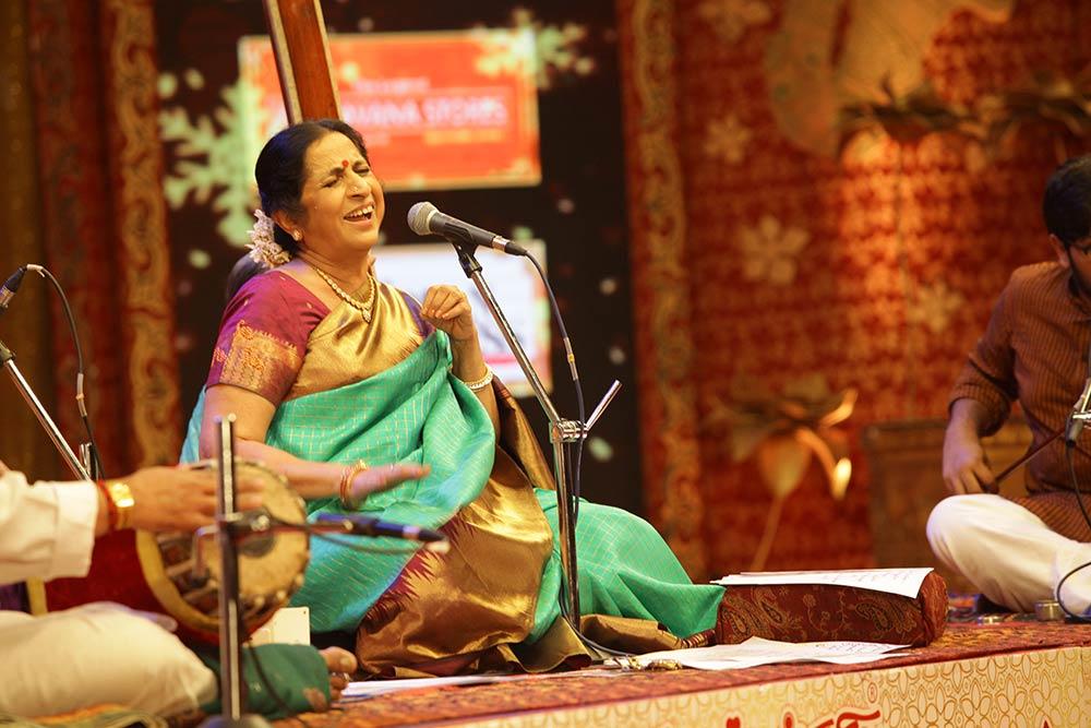 Aruna Sairam – Vocal at Chennaiyil Thiruvaiyaru – Season 13