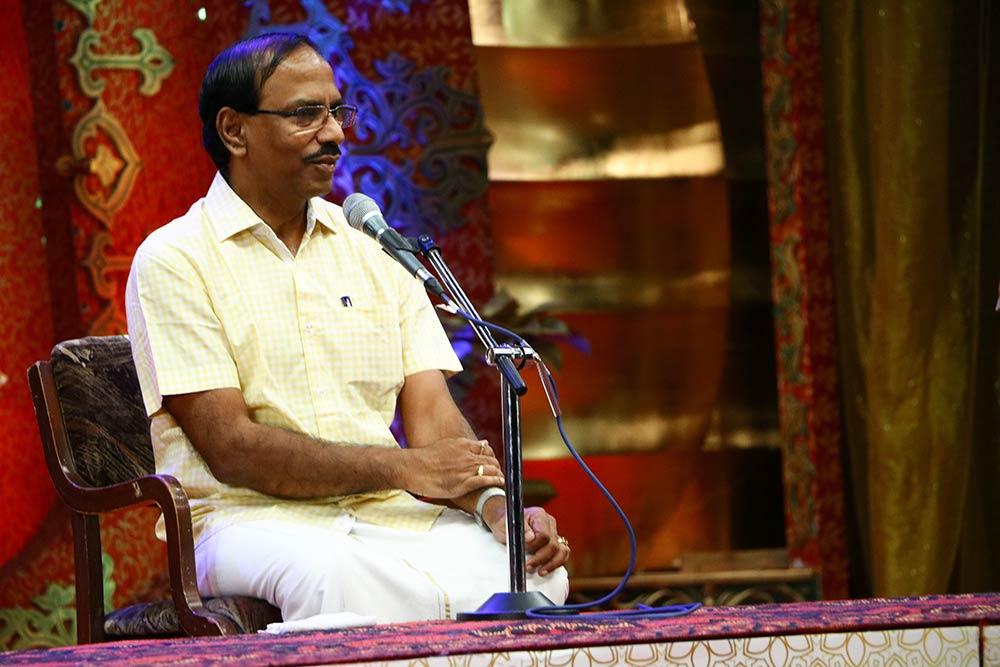 Pattimandram Raja – Aanmigaurai at Chennaiyil Thiruvaiyaru – Season 13
