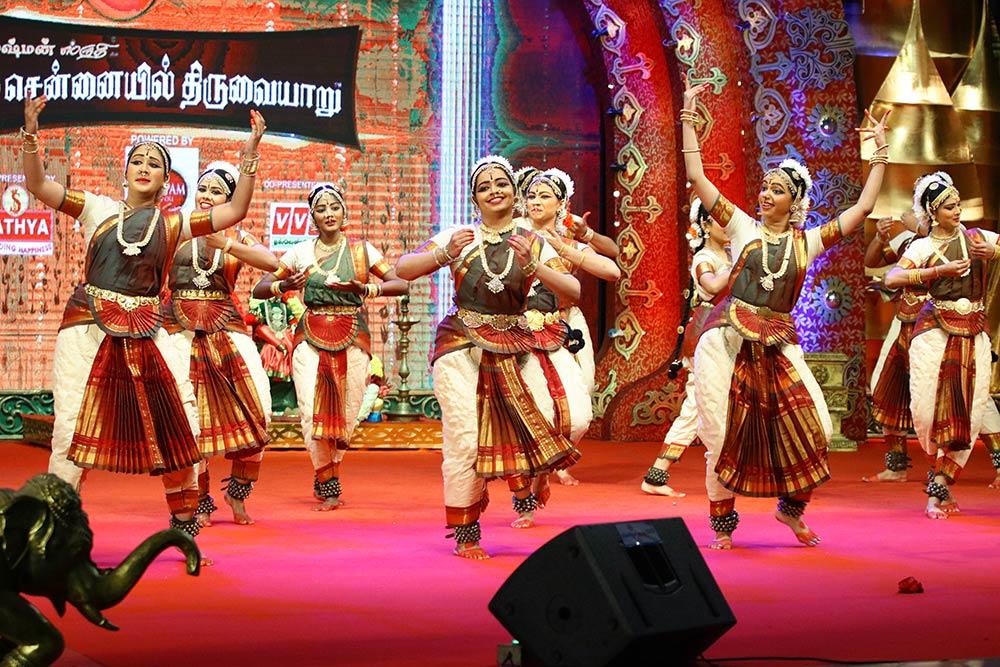 Krishnakumari Narendran – Bharathanatyam at Chennaiyil Thiruvaiyaru – Season 13