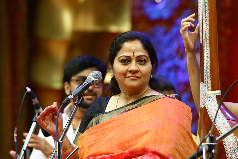 S. Sowmya – Vocal at Chennaiyil Thiruvaiyaru – Season 13