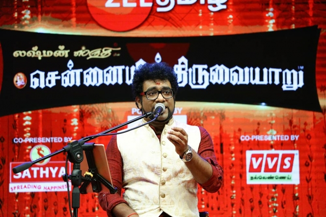 Haricharan – Vocal at Chennaiyil Thiruvaiyaru – Season 13