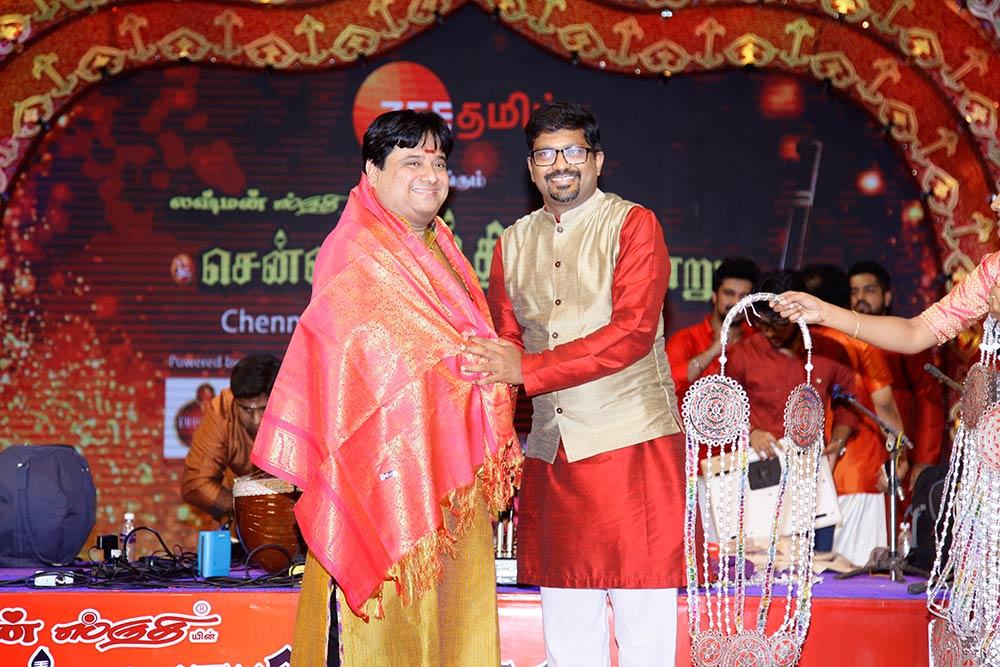 Rajesh Vadiya – Veenai at Chennaiyil Thiruvaiyaru – Season 13
