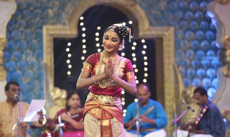 Vithisha - Bharatanatyam at Chennaiyil Thiruvaiyaru – Season 11