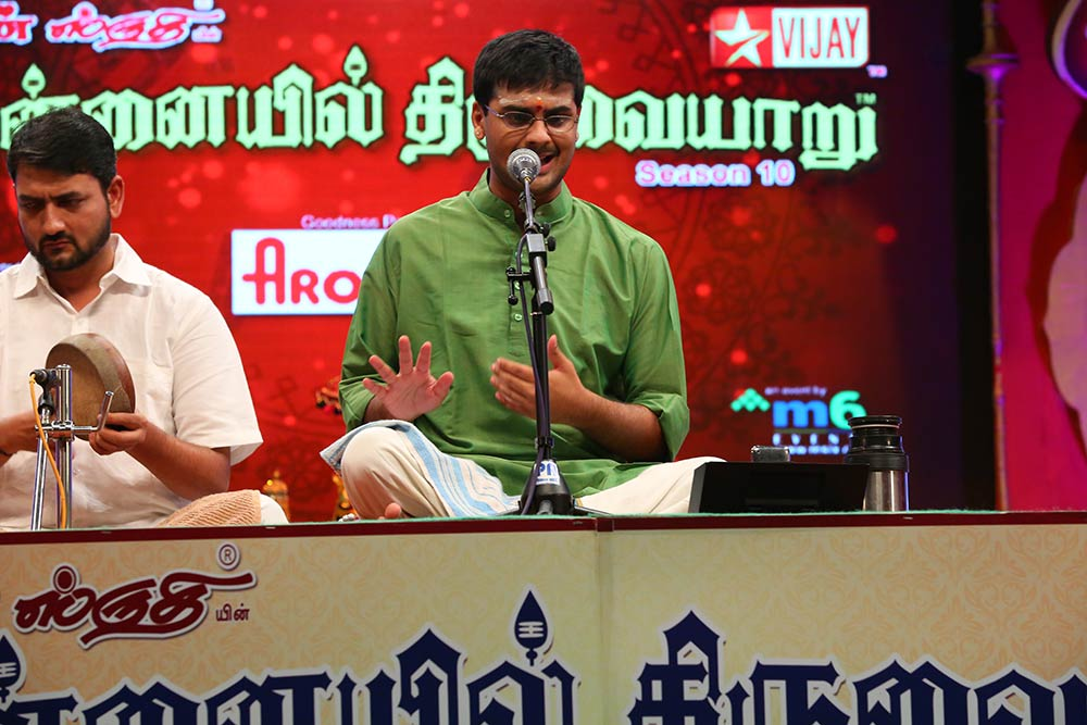 Ramakrishna Murthy – Vocal at Chennaiyil Thiruvaiyaru – Season 10
