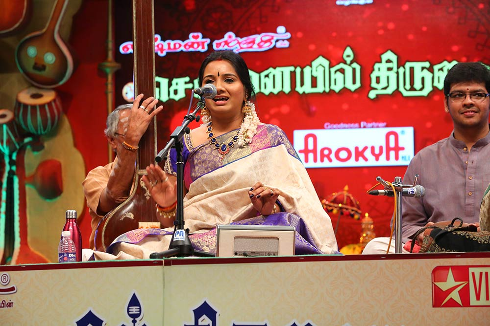 Mahathi – Vocal at Chennaiyil Thiruvaiyaru – Season 10