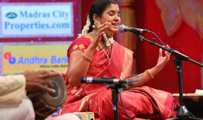 Sindhuja – Harikatha at Chennaiyil Thiruvaiyaru – Season 10