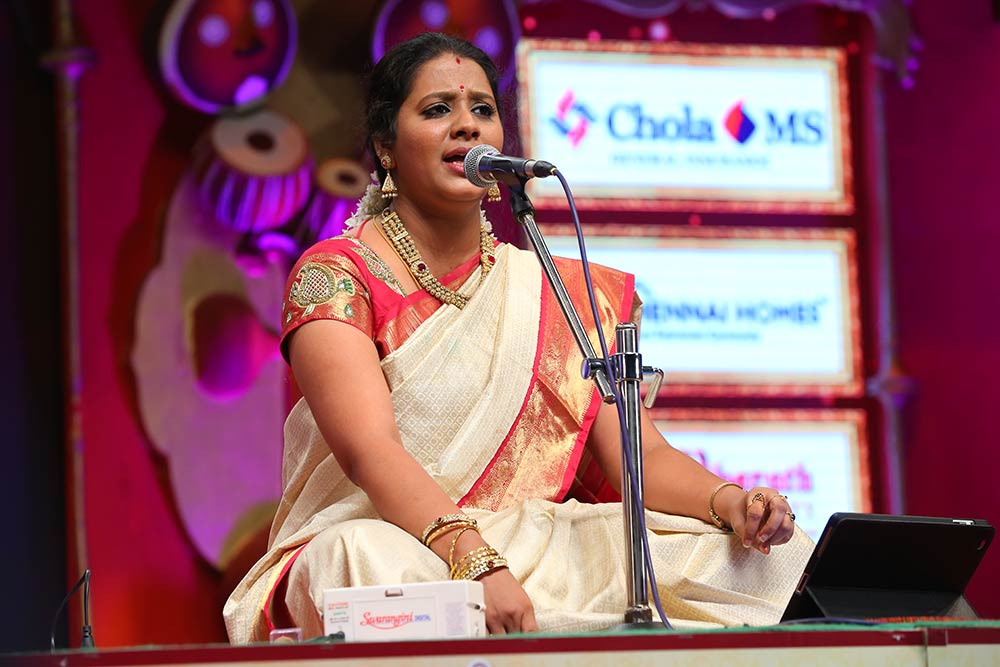 Suchitra – Harikatha at Chennaiyil Thiruvaiyaru – Season 10