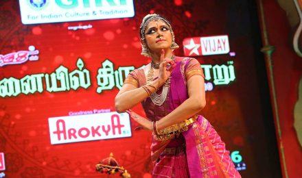 Shobana – Bharatanatyam at Chennaiyil Thiruvaiyaru – Season 10
