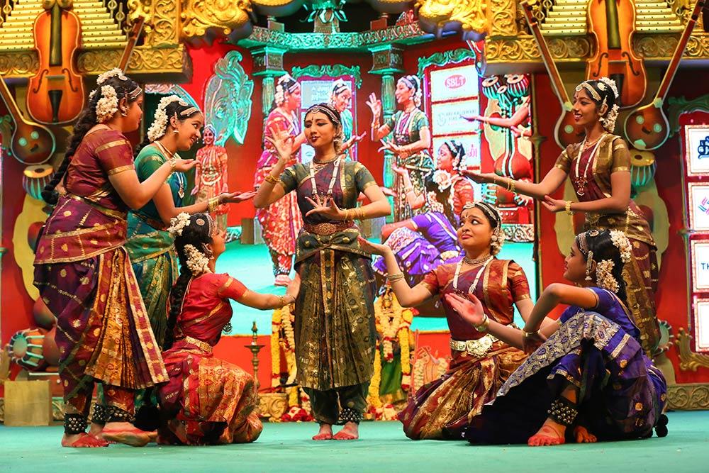 Srekala Bharath – Bharatanatyam at Chennaiyil Thiruvaiyaru – Season 10