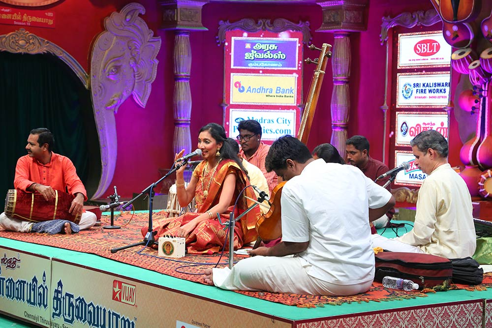 Sri Madhumitha – Vocal at Chennaiyil Thiruvaiyaru – Season 10