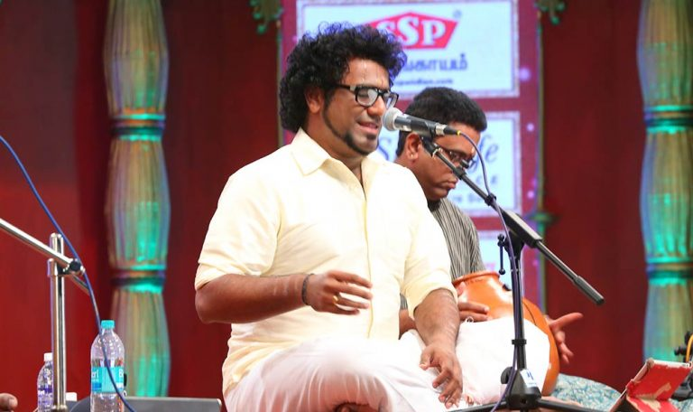 Haricharan – Vocal at Chennaiyil Thiruvaiyaru – Season 10