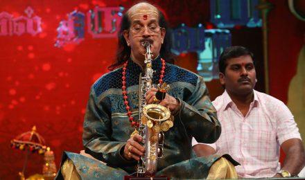 Kadri Gopalnath – Saxophone at Chennaiyil Thiruvaiyaru – Season 10