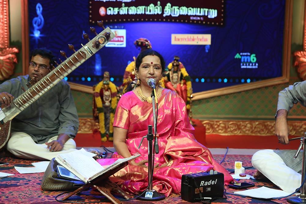 Shoba ChandraSekhar Vijay - Vocal at Chennaiyil Thiruvaiyaru – Season 12