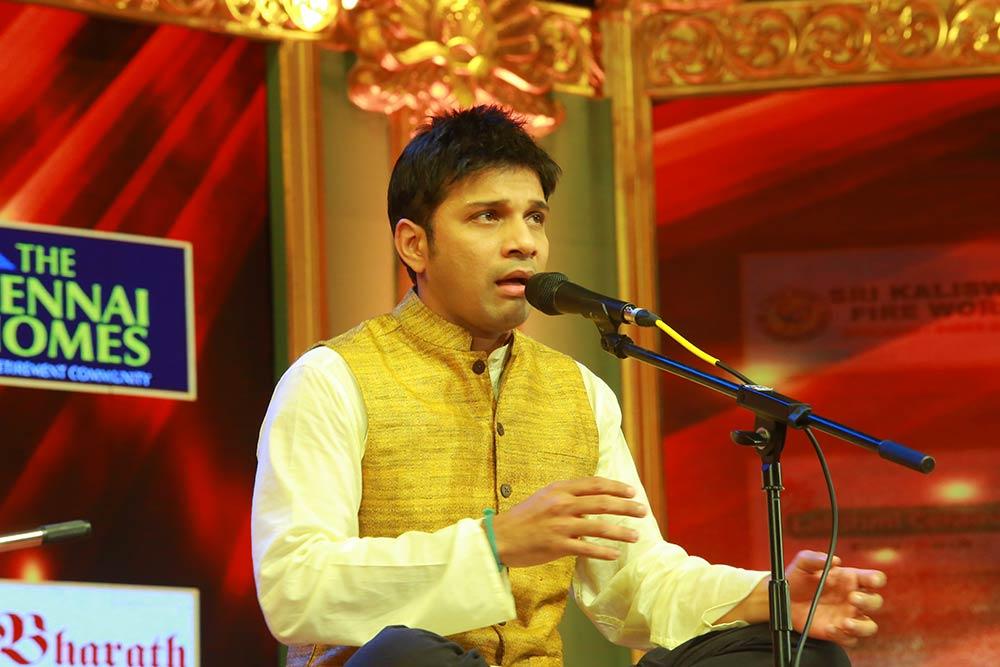 Karthick - Vocal at Chennaiyil Thiruvaiyaru – Season 12