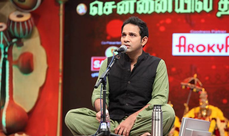 Karthik – Vocal at Chennaiyil Thiruvaiyaru – Season 10