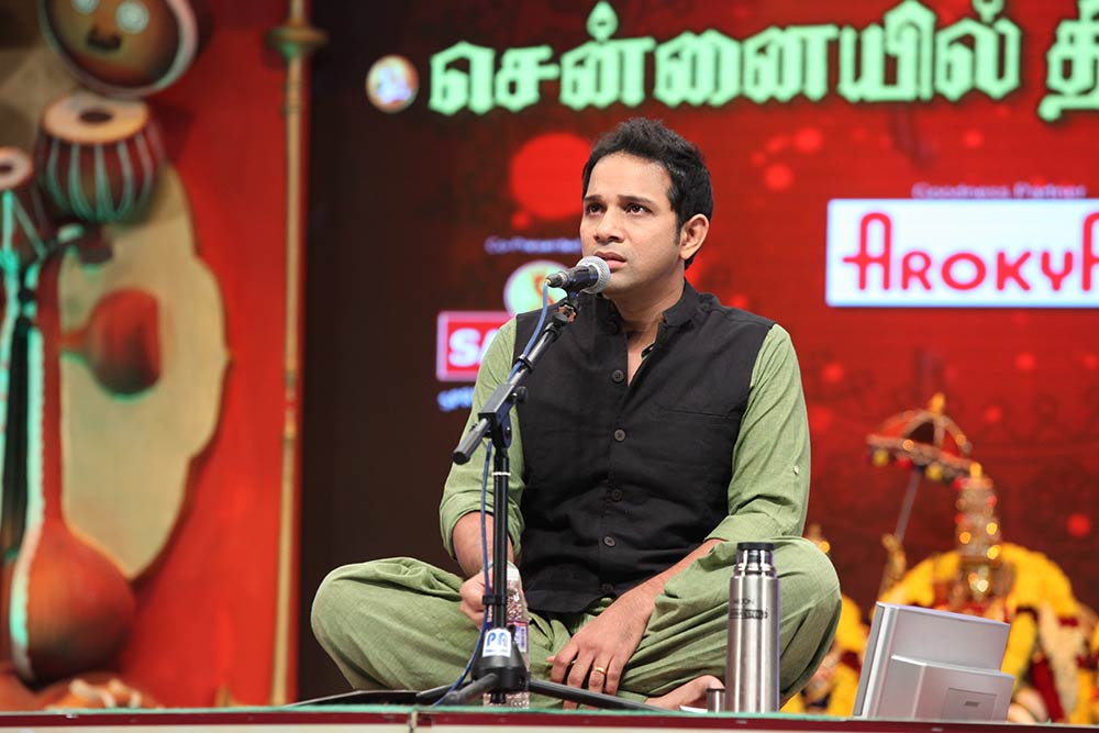 Karthik – Vocal at Chennaiyil Thiruvaiyaru – Season 10