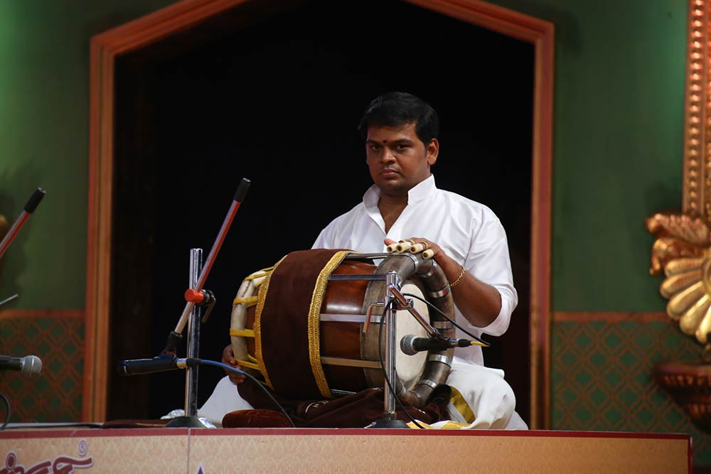 T.S.H.Ramanathan – Vocal at Chennaiyil Thiruvaiyaru – Season 12