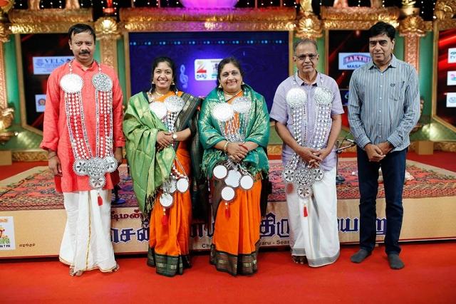 Lalitha & Nandini -Violin at Chennaiyil Thiruvaiyaru – Season 12