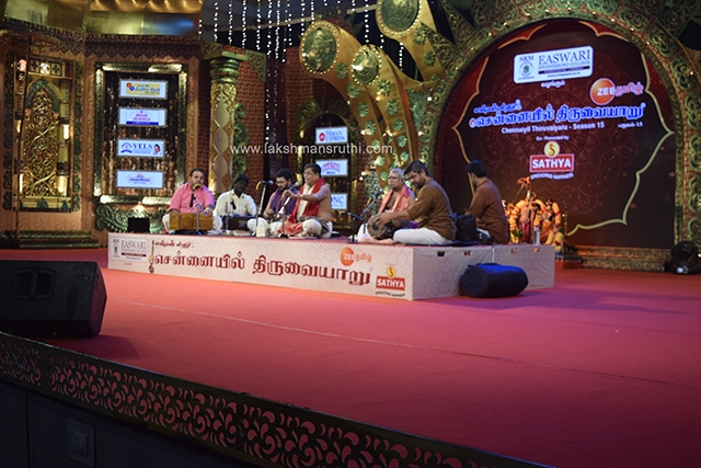 Udayalur Kalyanaraman – Namasankeerthanam at Chennaiyil Thiruvaiyaru – Season 15