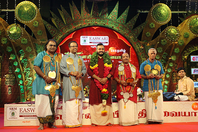 Sandeep Narayanan – Vocal at Chennaiyil Thiruvaiyaru – Season 15