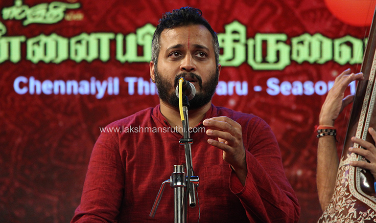 Sandeep Narayanan – Vocal at Chennaiyil Thiruvaiyaru – Season 15