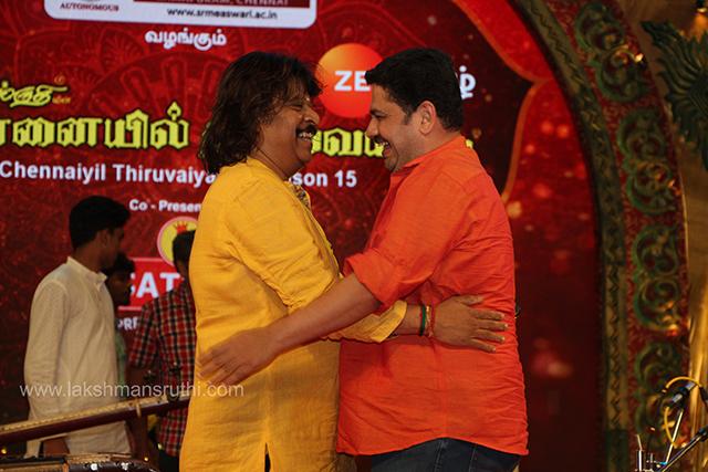 Rajhesh Vaidhya & U.Rajesh – Veena & Mandolin at Chennaiyil Thiruvaiyaru – Season 15