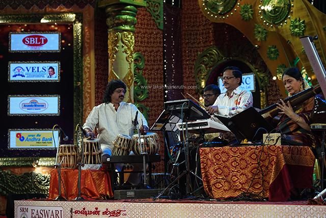 Revathi Krishna – Veena at Chennaiyil Thiruvaiyaru – Season 15
