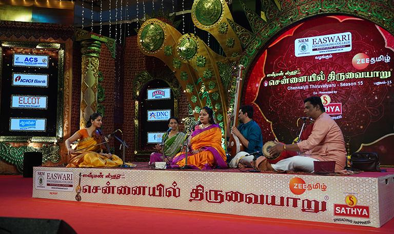 Sowmya – Vocal at Chennaiyil Thiruvaiyaru – Season 15