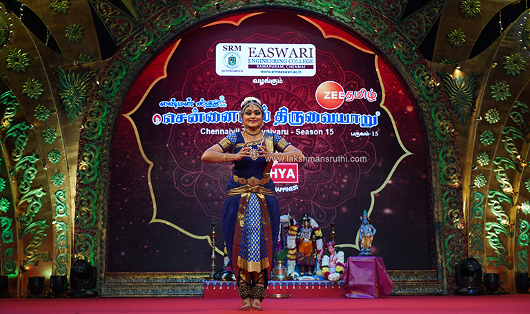 Padmini Krishnamoorthy – Bharathanatiyam at Chennaiyil Thiruvaiyaru – Season 15