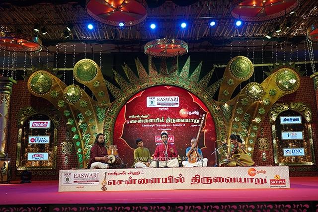 Abhishek Raghuram – Vocal at Chennaiyil Thiruvaiyaru – Season 15
