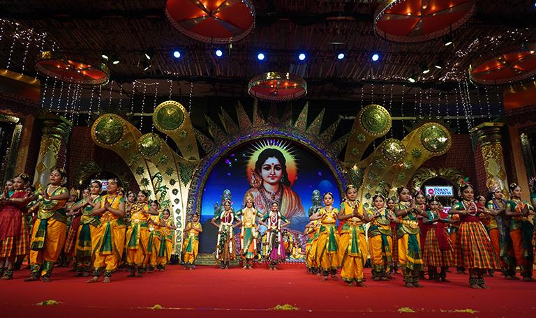 Ranjana's Sri Kalakshi School Of Dance – Bharathanatiyam at Chennaiyil Thiruvaiyaru – Season 15