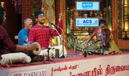Abhishek Raghuram – Vocal at Chennaiyil Thiruvaiyaru – Season 15