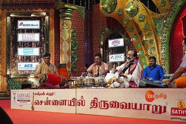 Manibharathi – Violin at Chennaiyil Thiruvaiyaru – Season 15