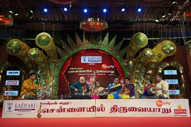 Kumaresh & Jayanthi Kumaresh – Violin & Veenai at Chennaiyil Thiruvaiyaru – Season 15