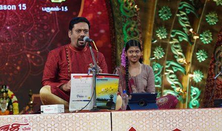 Ananthu – Vocal at Chennaiyil Thiruvaiyaru – Season 15